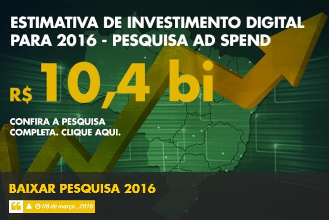 pesquisa iab 2016 investimentos online