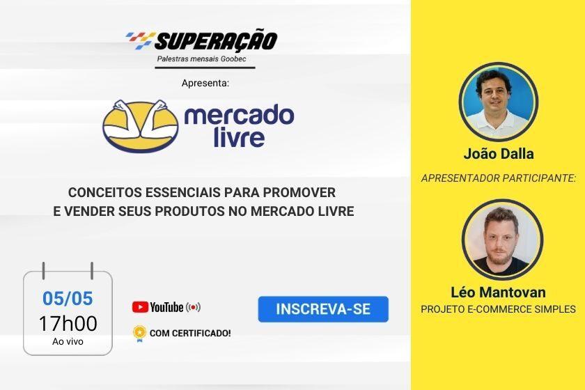 Inscreva-se na Live sobre Mercado Livre.