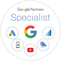 Selo do Google Partners Specialist