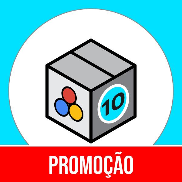 Pacote 10 E-Commerce Marketing & Publicidade com 50% OFF