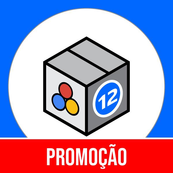 Pacote 12 E-Commerce Marketing, Publicidade, Métricas & Mídia Social com 50% OFF