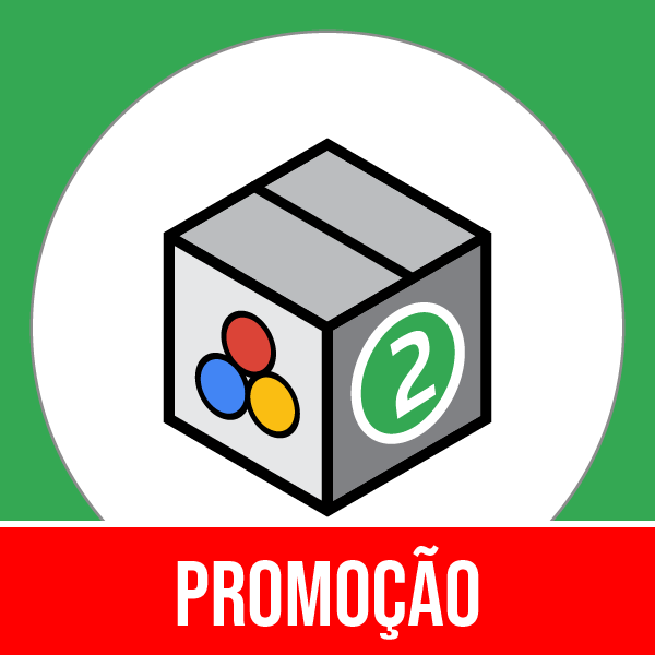 Pacote 2 Marketing, Publicidade & Mídia Social com 50% OFF