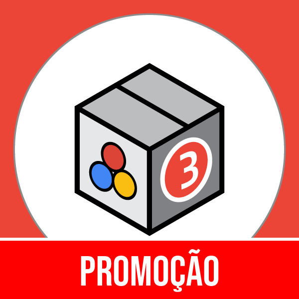 Pacote 3 Marketing, Publicidade, Métricas & Mídia Social com 50% OFF