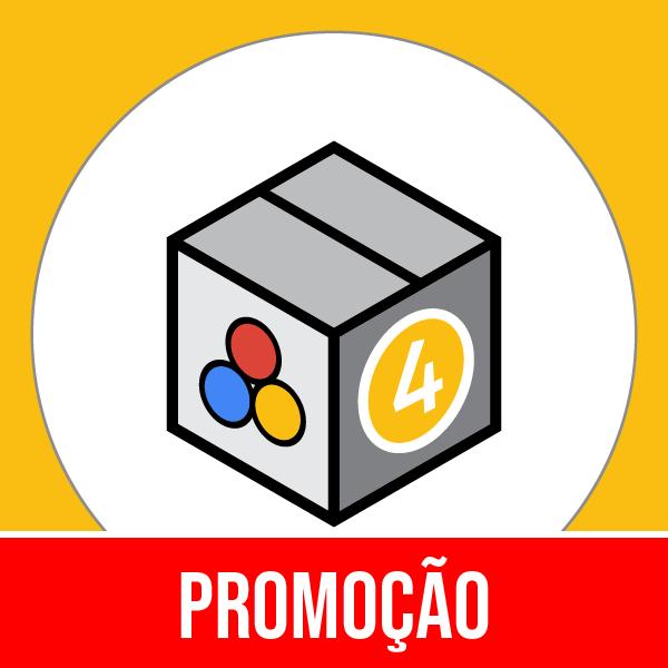 Pacote 4 Marketing & Publicidade com 50% OFF