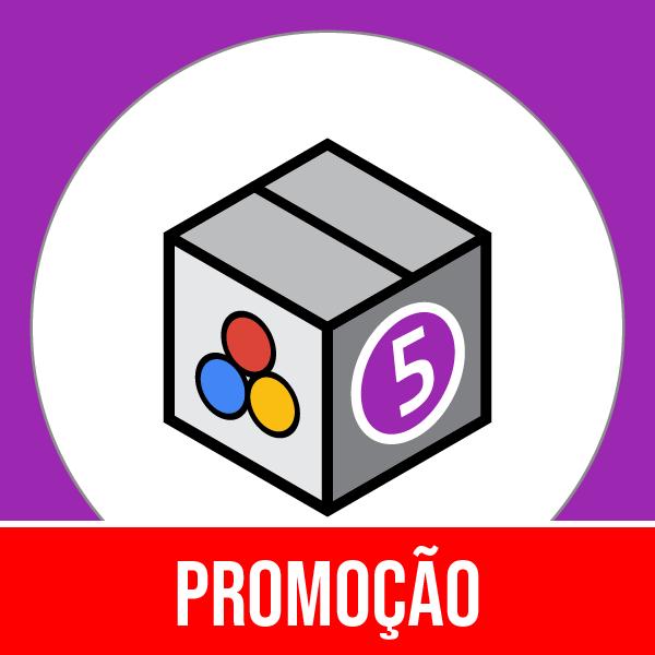 Pacote 5 Marketing, Publicidade & Métricas com 50% OFF