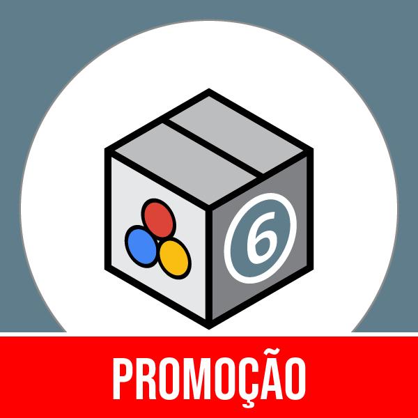 Pacote 6 Marketing, Publicidade, Métricas & Midia Social com 50% OFF