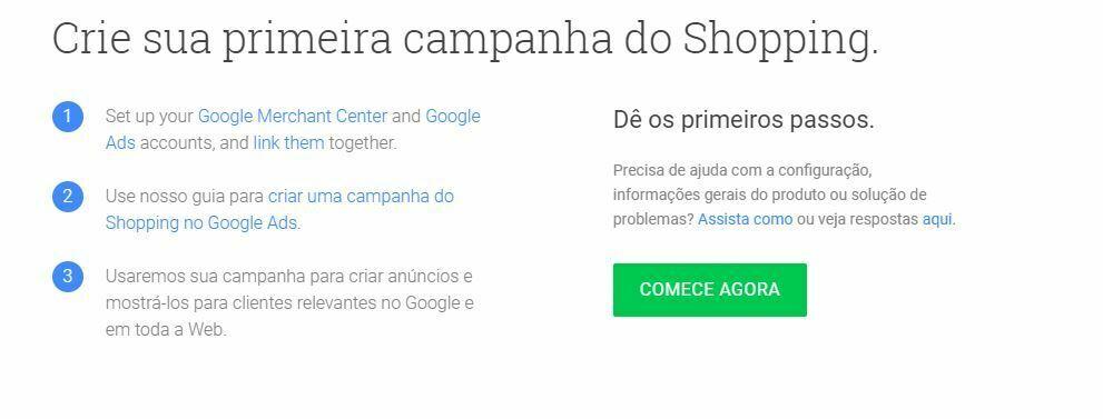 Aprenda como criar anúncios no Google Shopping