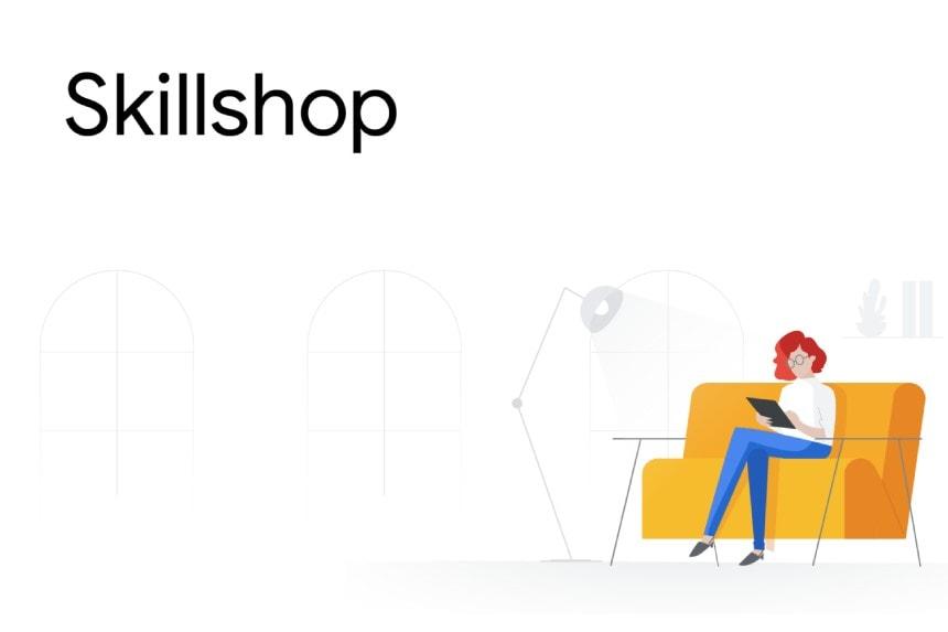Passo a passo para deixar publico seu perfil no skillshop do google. parte 2
