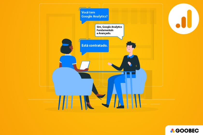 Google Analytics ajuda na conquista de emprego em Marketing Digital