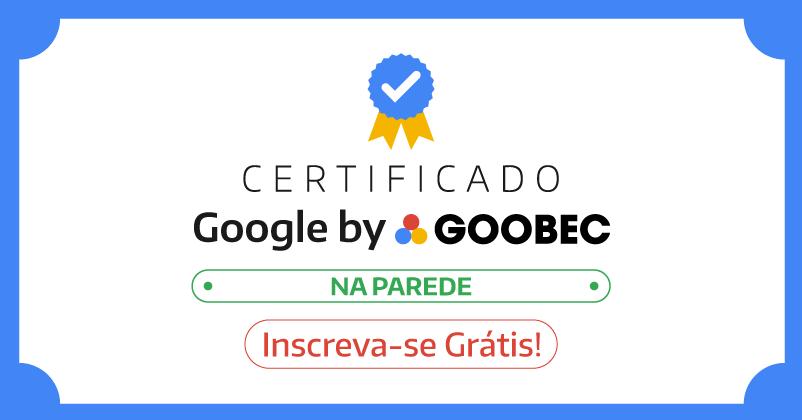 Certificado do Google na sua casa