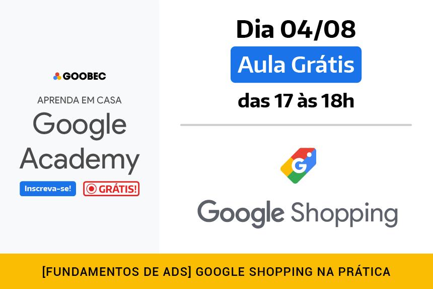 Aula Grátis de Google Shopping