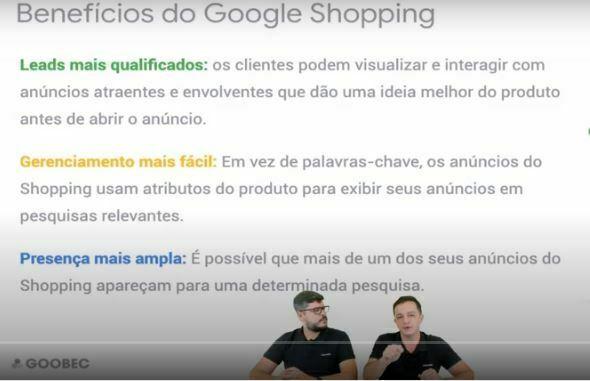 Conheça as vantagens do Google Shopping  no Google Academy.