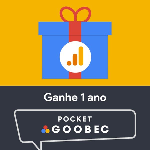 Combo Google Analytics Expert + GRÁTIS 1 Pocket Goobec